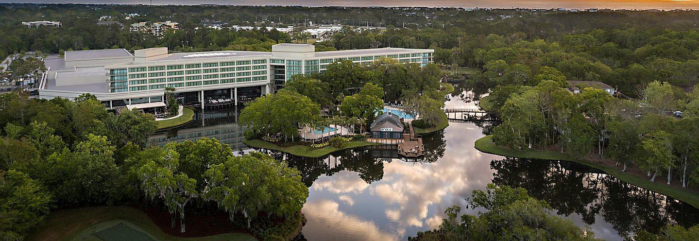 Sawgrass Marriott Aerial View
